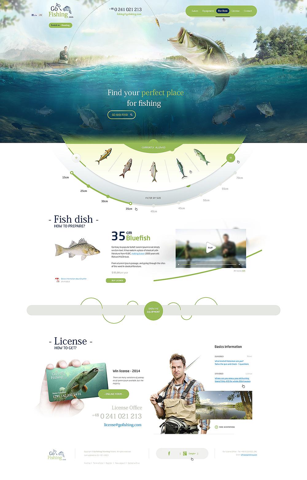 Gofishing gohunting east2go creative agency for Go go fishing