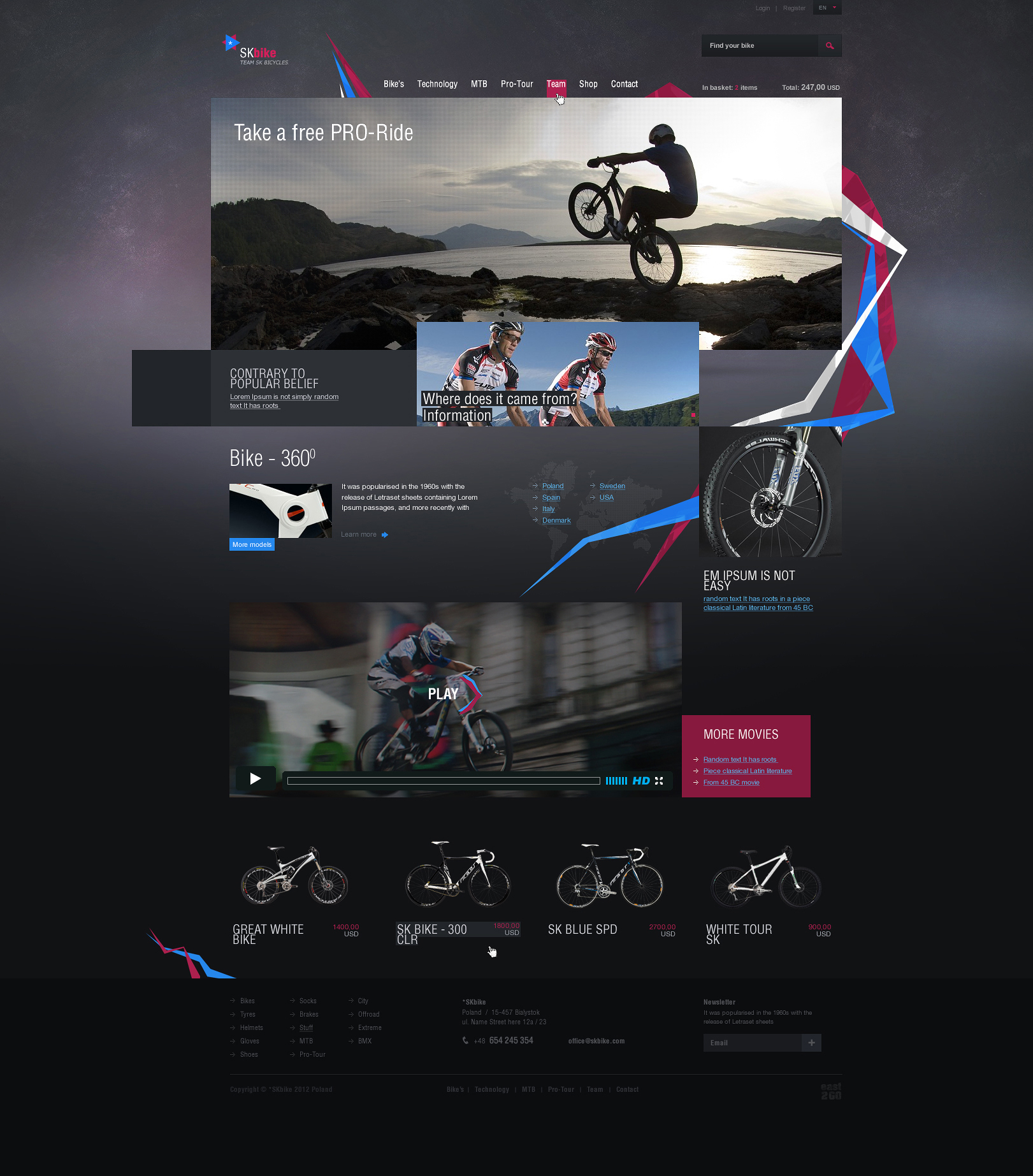 skbike east2go creative agency