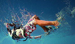 Kitesurfing poster