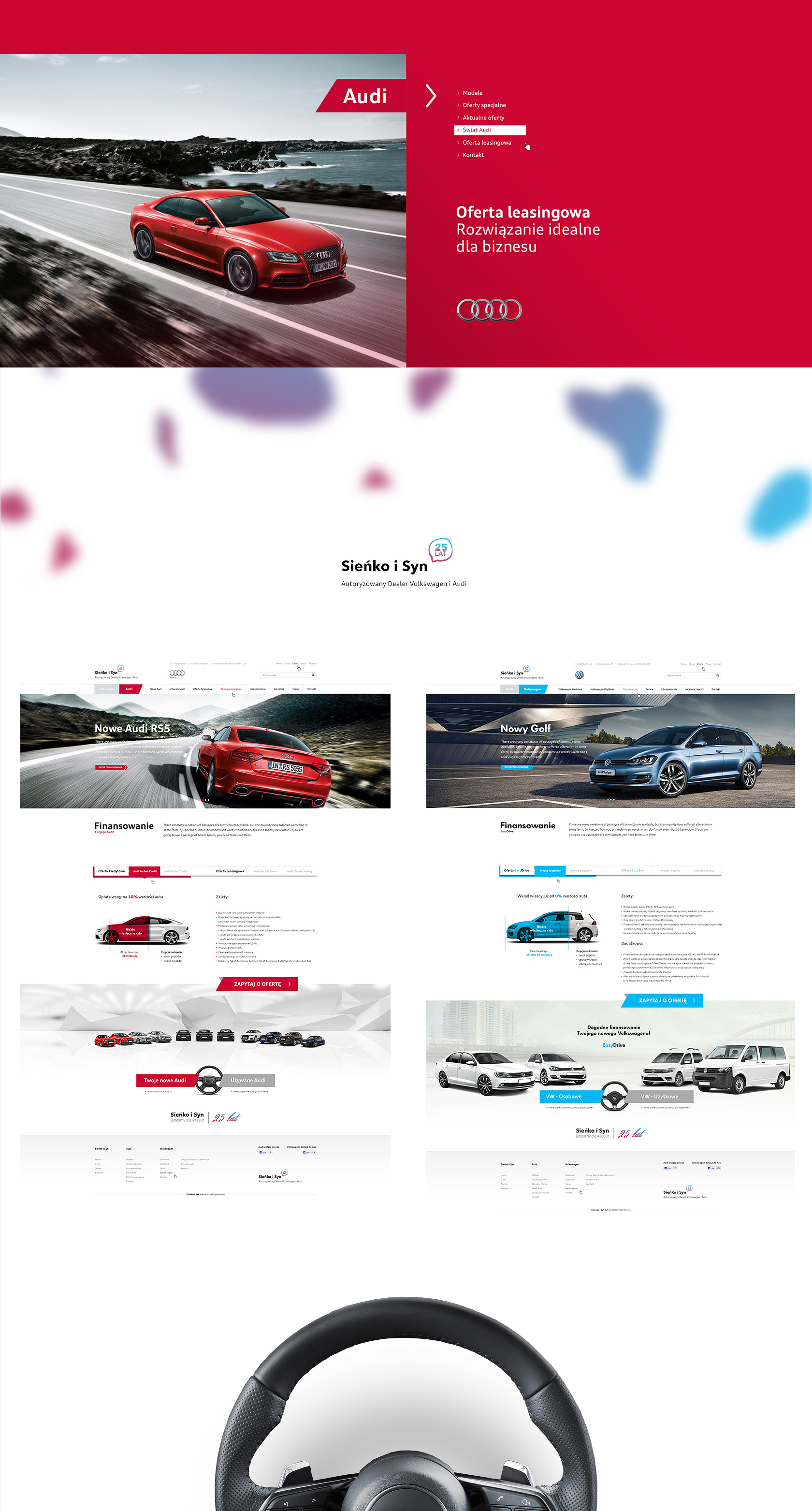 Eilles Website Design