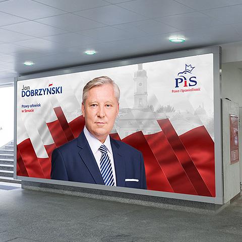 Jan Dobrzyński – campaign